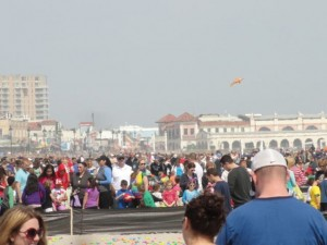 The first of two Easter Egg Hunts on the beach in Ocean City (NJ) was held April 12. A second is scheduled for 2:30 p.m. Saturday, April 19.