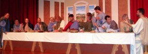 "The Ocean City Tabernacle and St. Peter's United Methodist Church present the ""Living Last Supper"" 7 p.m. April 17 and 18."