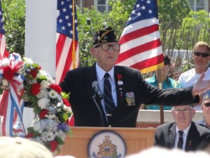 Ocean City's annual Memorial Day ceremony is at 11 a.m. Monday (May 25) at Veterans Memorial Park, between Fifth and Sixth streets off Wesley Avenue.