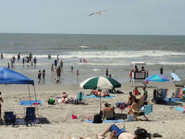 List of beaches with ocbp lifeguards for june 6 to 12 for Ocean city nj surf fishing report