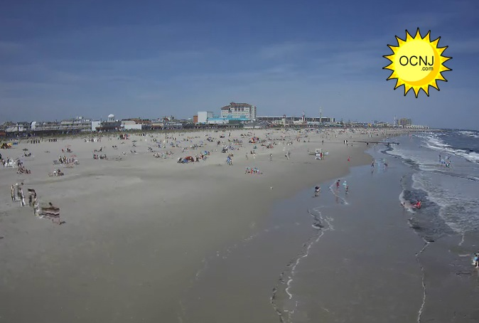 Live cams offer 24 hour view of ocean city from all angles for Ocean city nj surf fishing report