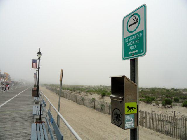 Ocean city bans smoking on boardwalk ocnj daily for Ocean city nj surf fishing report