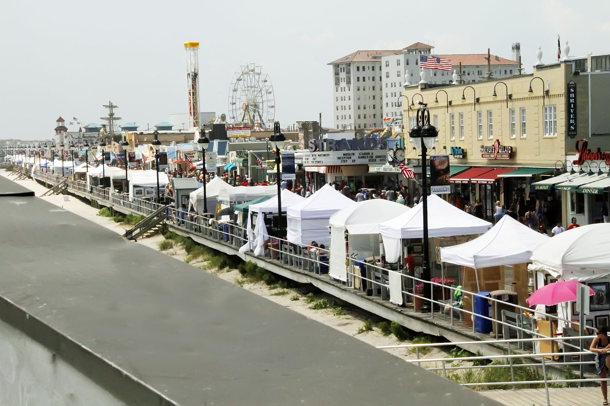 Boardwalk art show returns for 52nd year from friday to for Ocean city nj surf fishing report