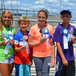 133 Participate in Boys and Girls Fishing Tournament in Ocean City