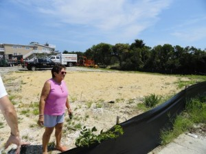 "Nearby resident Rita Warren said ""people would die for this in front of their houses"" of the protective dunes and vegetation in front of the former Christian Brothers Retreat site on the 3000 block of Central Avenue."