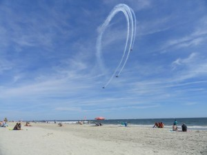 The free Ocean City Aerobatic Air Show is scheduled for 1 p.m. Sunday, Sept. 14, over the beach and boardwalk between Sixth and 14th streets in Ocean City, NJ.