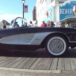 Corvette Show Visits Ocean City Boardwalk on Sunday