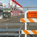 Ocean City Boardwalk Split in Two for the Winter