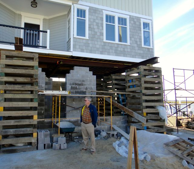 Lbi Nj: Two Years Later, Sandy Leaves A High Price To Pay In Ocean