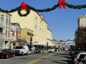 The Stainton's building anchors Asbury Avenue between Eighth and Ninth streets in downtown Ocean City.