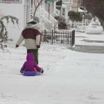 Storm Passes, Leaving 2 Inches of Snow in Ocean City