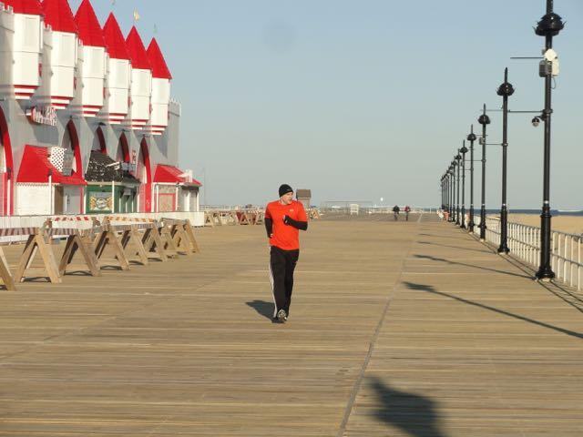 Ocean city boardwalk is back full length reopens after for Ocean city nj surf fishing report