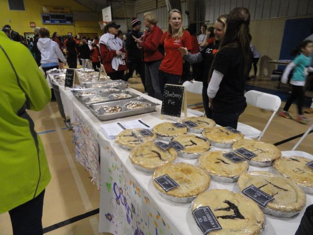 The celebration of pi continued after the race with a small fair inside the Ocean City Civic Center.