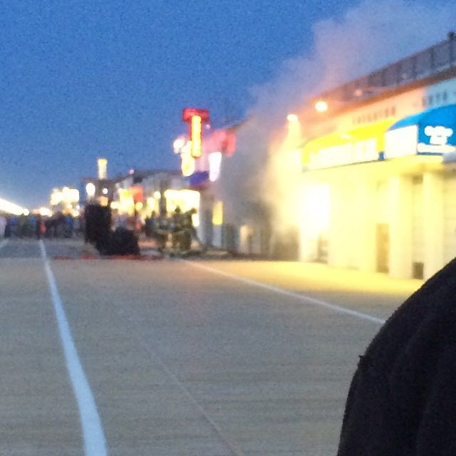 Update fire damages 7th street surf shop on ocean city for Ocean city nj surf fishing report