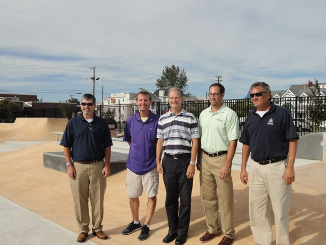 Ocean City Opens New Skateboard Park Ocnj Daily