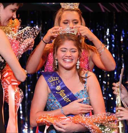 Paige Aita Crowned Junior Miss Ocean City Ocnj Daily