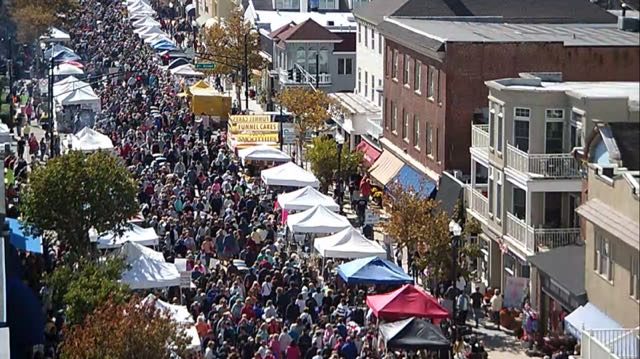 Fall Block Party In Ocean City Attracts Big Crowds Ocnj