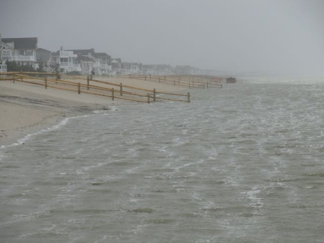 Beaches Take a Beating, Streets Flood in Friday Storm | OCNJ Daily
