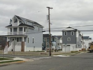 Some coastal cottages at the corner of 13th Street and Haven Avenue are now complete.