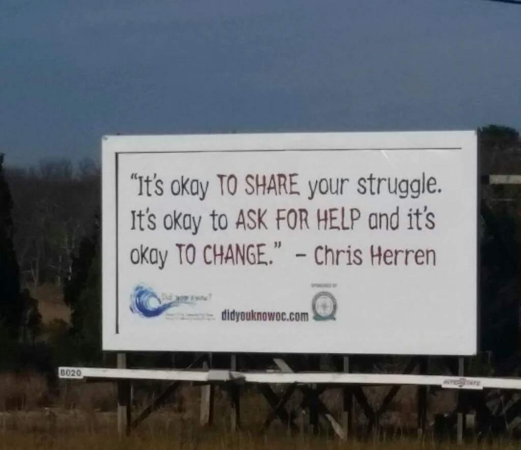 New Billboard Uses Chris Herren S Words To Reach Students