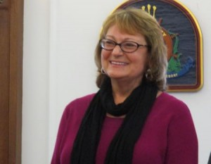 Ocean City Clerk Linda MacIntyre at her final City Council meeting before retirement.