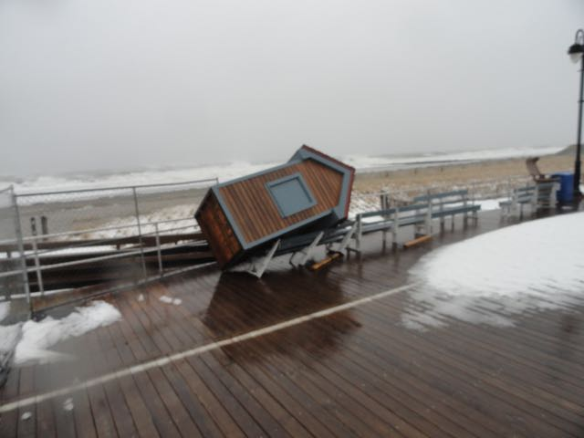 Flooding begins to fade in ocean city ocnj daily for Ocean city nj fishing report