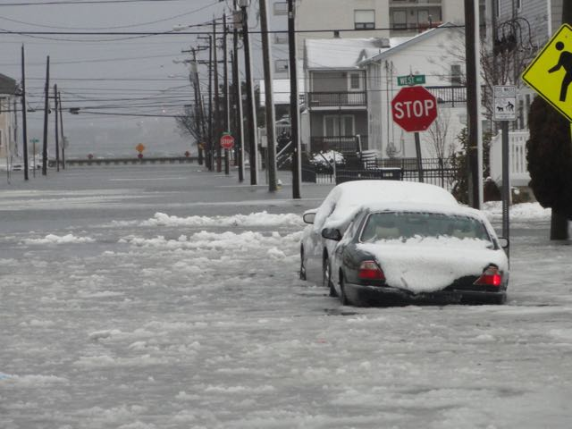 Flooding cuts off ocean city from the mainland ocnj daily for Ocean city nj surf fishing report