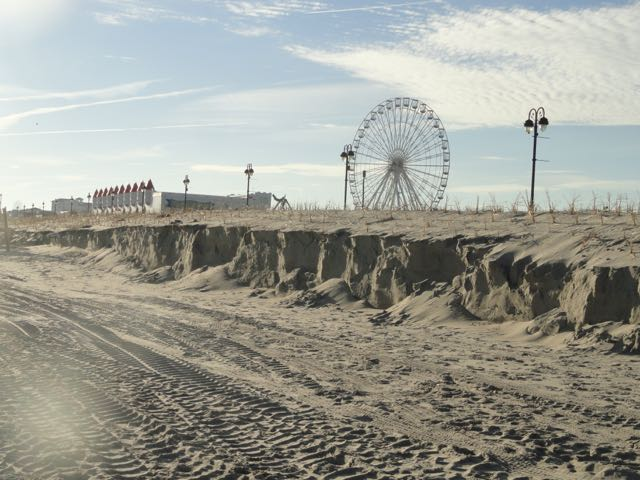 Ocean city cleans up after last weekend s storm ocnj daily for Ocean city nj surf fishing report
