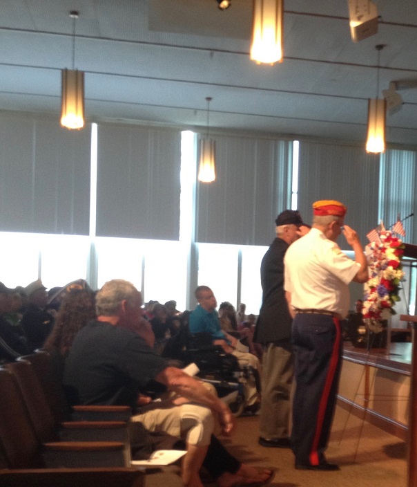 The Placing of the Wreath.4