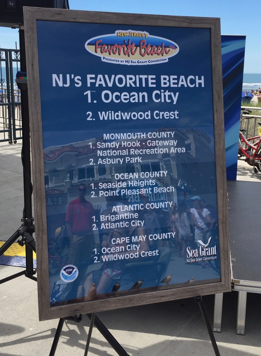 NJ's Favorite Beaches Board