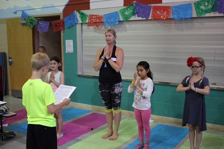 Yoga instructor Michelle Whelan.4