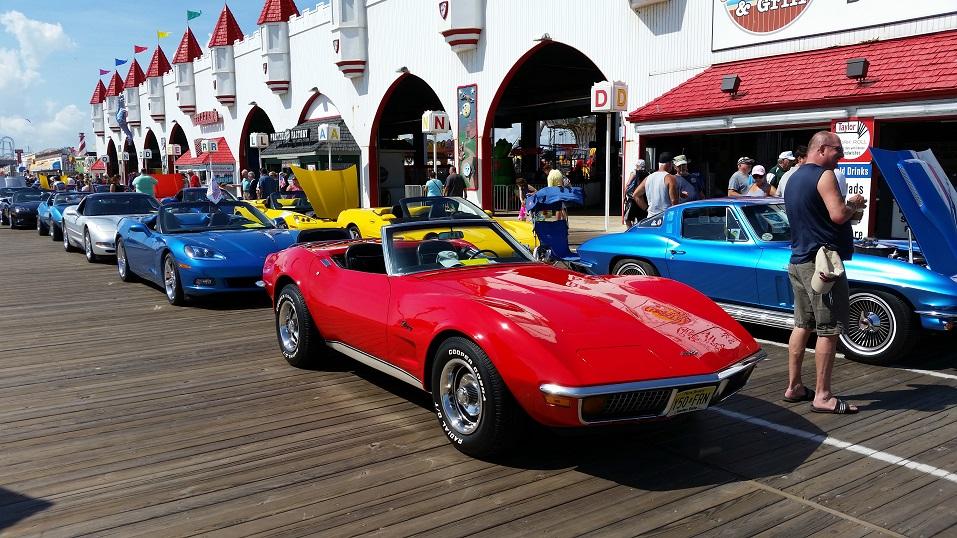 Lots Of Horsepower Nearly Corvettes Shine On Ocean City - Ocean city car show 2018