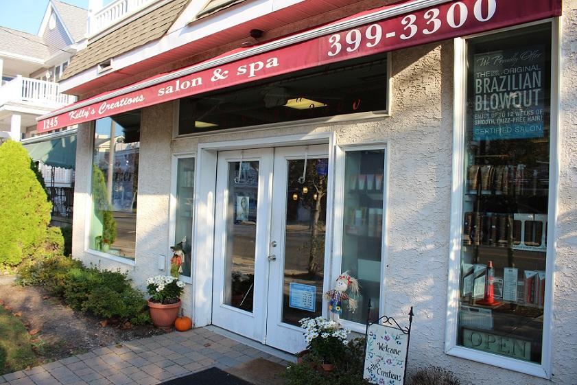 Kelly's inviting exterior beckons clients at 1245 Asbury Ave.