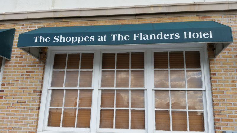 The Shoppes at The Flanders are near the hotel's Boardwalk side on 11th Street.