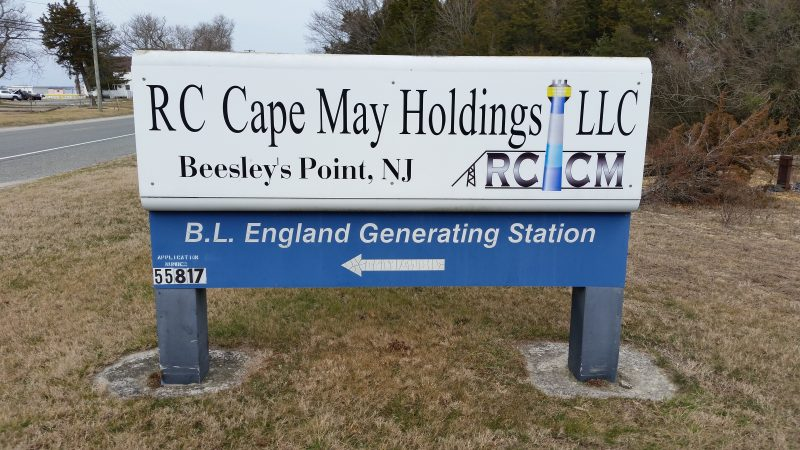 RC Cape May Holdings LLC, the plant owner, wants to use the pipeline to convert the facility to natural gas.