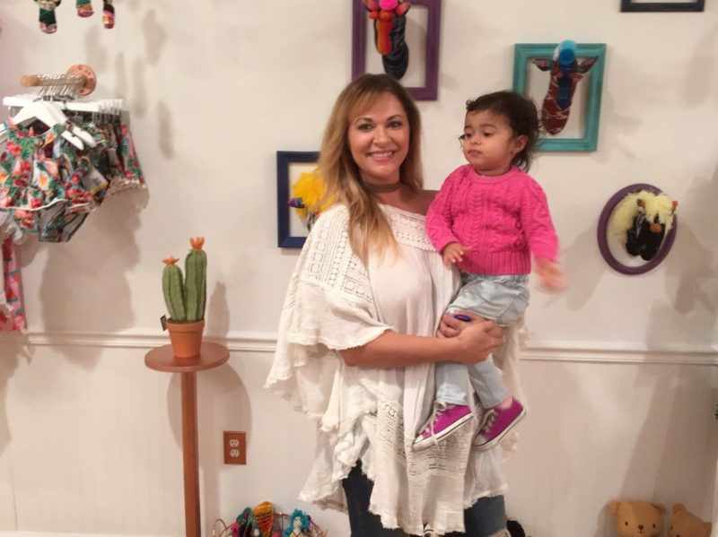 Gina Ozhuthual credits her daughter, Camilla, as being her inspiration for opening the store.