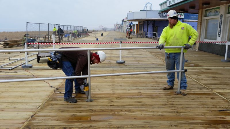 Bids will be sought for the last phase of the Boardwalk's multiyear reconstruction.