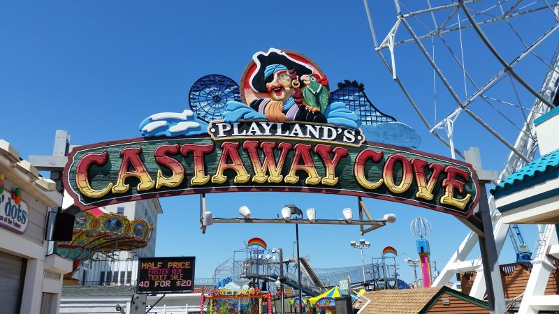 Playland's Castaway Cove is Ocean City's oldest amusement park, opening in 1959.