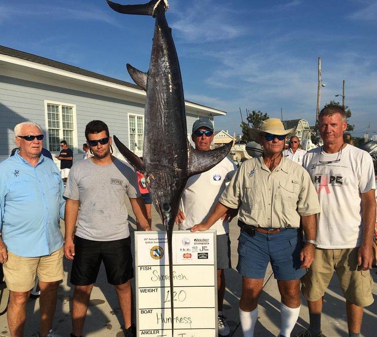 Ocean City Marlin and Tuna Club Overnight Swordfish Tournament