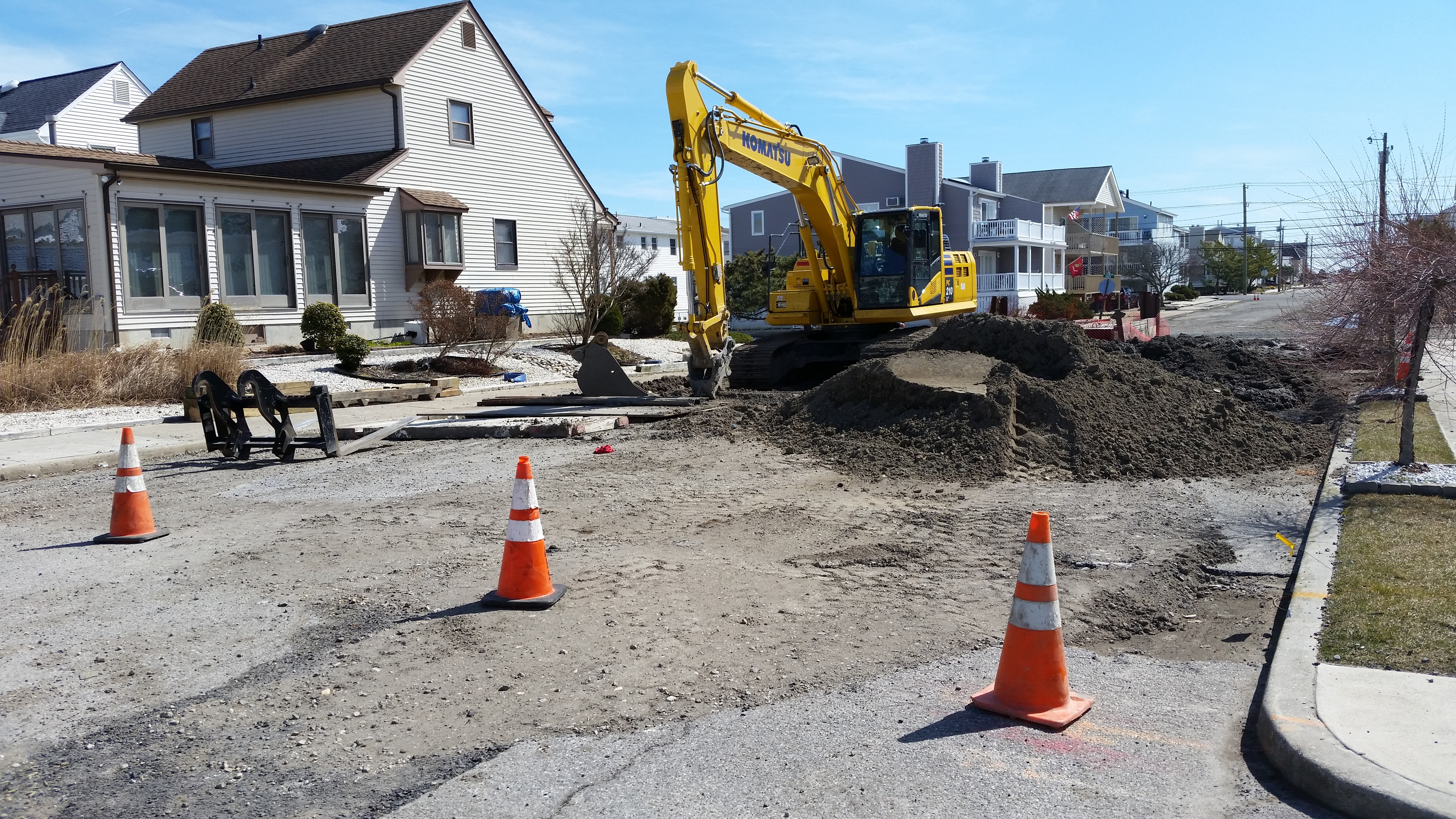 Ocean city flooding project nears finish line ocnj daily for Ocean city nj surf fishing report
