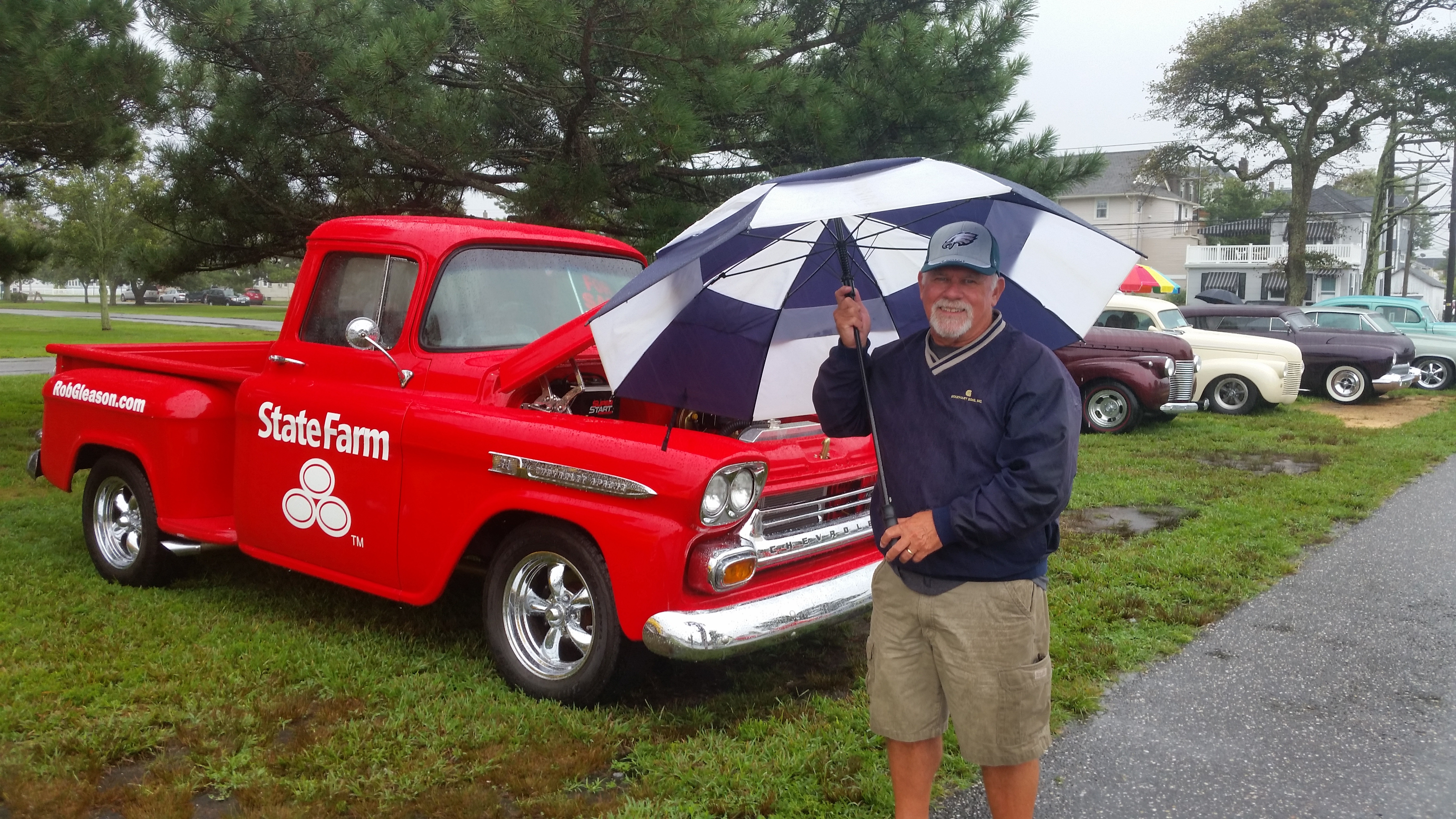 Heavy Rain Puts Damper On Ocean City Classic Car Show OCNJ Daily - Ocean city car show