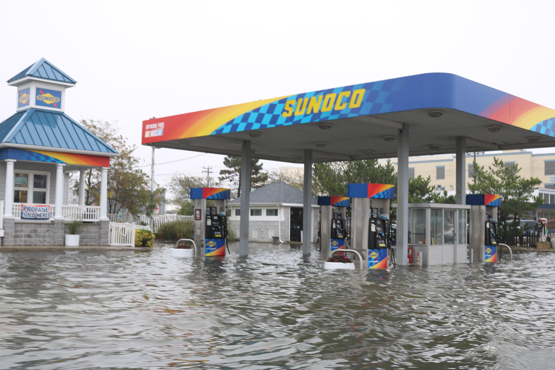 Coastal Storm Pounds Ocean City