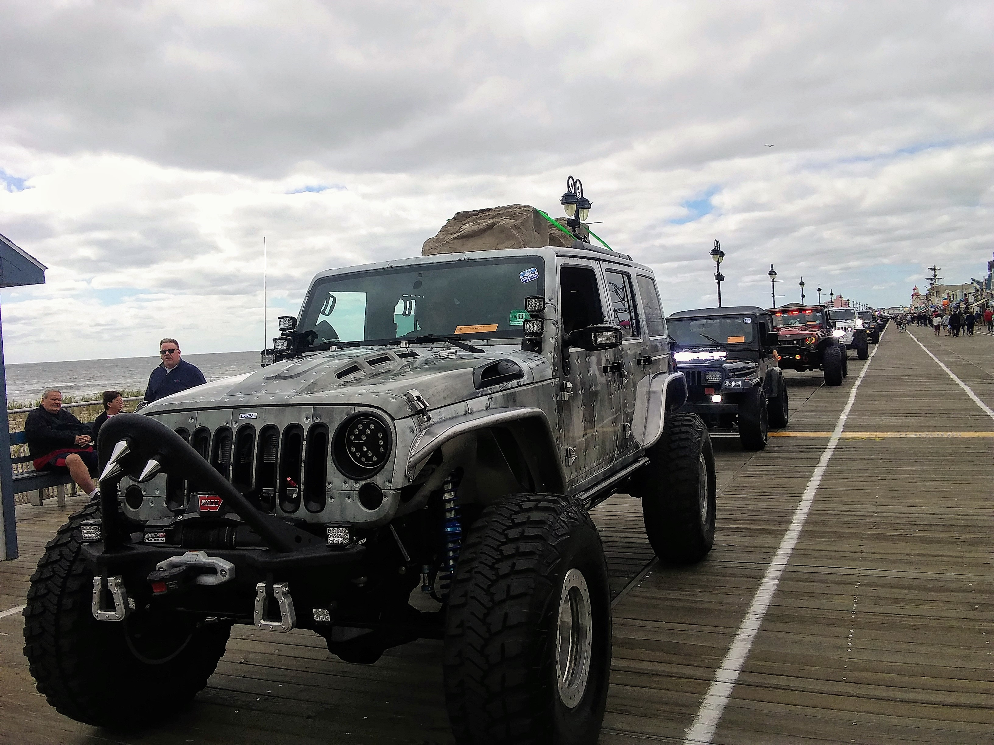 Jeeps Take Over O C Boardwalk Ocnj Daily